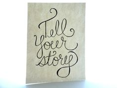 Be brave enough to tell your story so others will be brave enough to tell theirs.