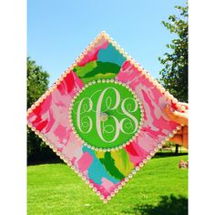 Graduation Cap Done In Lilly Pulitzer