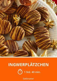 Ingwerplätzchen - smarter - Zeit: 1 Std. 40 Min. | eatsmarter.de