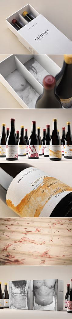 Cultivare Wine Labels — The Dieline - Branding & Packaging Design... - a grouped images picture - Pin Them All