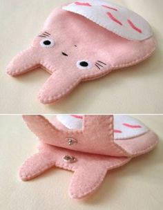 Totoro my neighbor big cute kawaii pink by craftingwithlove - . - Totoro my neighbor big cute kawaii pink by craftingwithlove – … – gift ideas - Kawaii Crafts, Kawaii Diy, Cute Crafts, Felt Crafts, Fabric Crafts, Sewing Crafts, Diy And Crafts, Sewing Projects, Kawaii Felt