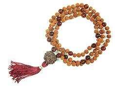 Spiritual Mala Rudraksha Beads Brown Crystal Meditation Yoga Healling Prayer Mala Mogul Interior http://www.amazon.com/dp/B00PIDH3EA/ref=cm_sw_r_pi_dp_LObzub1NDC6PR