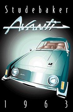 1963 Avanti Ad. I've seen several times one of these parked outside of the Smoke House in Fish Town. I think this guy was a fiberglass body like the corvette