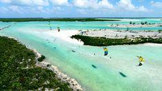 The Caicos Banks kitesurfing adventure via Kite Provo. #kitesurfing #kiteboarding #travel #turksandcaicos - actiontripguru.com