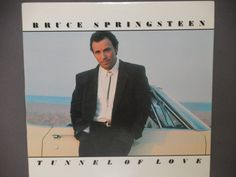 "Bruce Springsteen - Tunnel of Love - ""Brilliant Disguise"" - ""Tougher Than the Rest"" - Columbia Records 1987 - Vintage Vinyl LP Record Album"