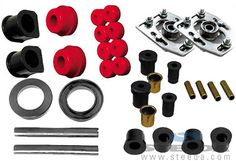Steeda 1990-93 Mustang Front End Suspension Rebuild Kit - Made in USA 555-4024…