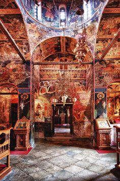 Greek Orthodox Church. My introduction to art..