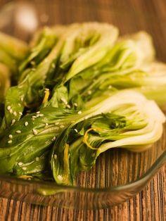 Chef Michael Smith | recipe | Asian Greens with Three Sesames