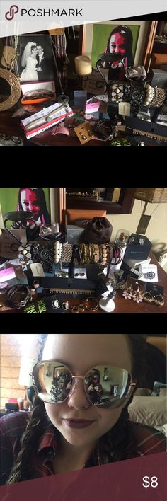 All jewelry ON SALE... ZOOM IN, MAKE ME AN OFFER!! Spring cleaning the jewelry! Some pieces here are already listed;) zoom in, tell me what you like and I'll post closer pics! Meanwhile I will be posting it all throughout the day! Have some fun all offers considered:)💕 all Jewelry