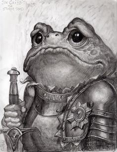 Sir Cribbits the Storm Toad ~by Matthew Art
