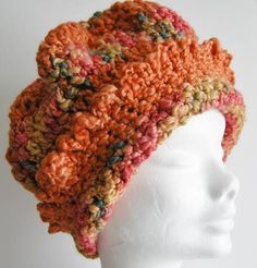 This soft and silky crochet beret will add a touch of chic to any outfit on cold autumn day. Crochet Beret, Winter Hats For Women, Fall Wardrobe, Beautiful Crochet, Autumn, Chic, Handmade, Crafts, Color