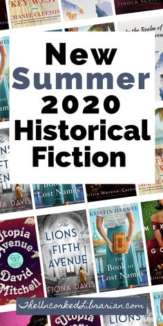 Historical Fiction Summer 2020 Book Releases: If you are looking for new books to read this summer 2020, don't miss some of our most anticipated new book releases in historical fiction.  Discover 10 summer 2020 historical fiction books to add to your TBR pile today. Summer Books, Summer Reading Lists, Fiction And Nonfiction, Fiction Writing, Book Club Books, Book Lists, Best Historical Fiction Books, Indie Books