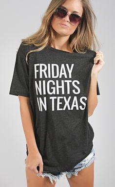 friday nights in texas tee