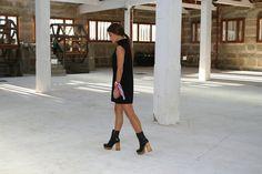 Menina e Moça Black Dress