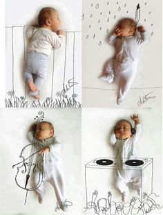 Baby Photoshoot...would make awesome announcement card   http://babyboysoledad.blogspot.com