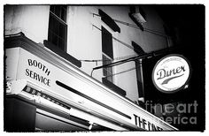 New York City At Night Diner Noir by John Rizzuto