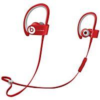 Langattomalla Bluetooth-yhteydellä varustetut Powerbeats 2 kuulokkeet ovat kevyet ja vedenkestävät. Kuulokkeet ovat ihanteelliset urheiluun.