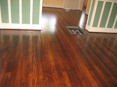 We Restored The Original Douglas Fir Flooring That Was