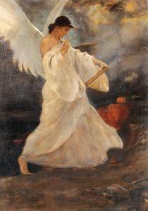 ''Glory of Psara '' c. 1898 by Nikolaos Gyzis Social Art, Pre Raphaelite, Greek Art, Chiaroscuro, Art Graphique, Illustrations, Artist Art, Les Oeuvres, Painting & Drawing