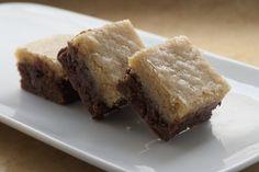 Black Bottom Cookie Bars - Bake or Break