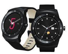 LG's G Watch R can display different Android Wear faces.