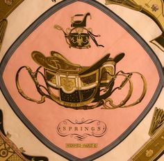 vintage Hermes scarf. I will never own anything so beautiful. :sigh: