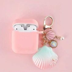 Cute Ipod Cases, Girly Phone Cases, Iphone 5c, Iphone Cases, Airpods Apple, Pink Apple, Cute Headphones, Accessoires Iphone, Earphone Case