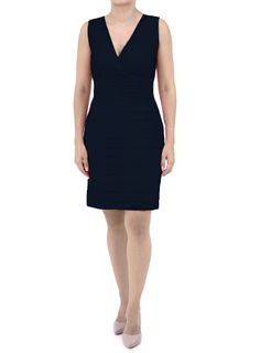Short Black Linen Dress