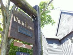 Witch House in Salem, MA