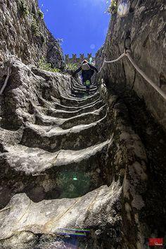 Sperlinga Castle in Enna province of Enna, Siciliy region Italy #enna #sicilia…