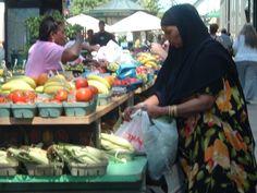 Afternoon on Nicolett, Market place