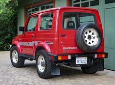 1986 Suzuki Samurai JX for sale on BaT Auctions - ending July 19 (Lot Samurai, Jimny Sierra, Jimny Suzuki, Car Supplies, Suzuki Cars, Northern Canada, Japanese Domestic Market, All Terrain Tyres, Leaf Spring