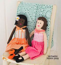 Mimin Dolls:(page 1 of 2) = 2 cute girls
