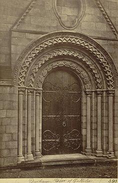door at Durham Cathedral