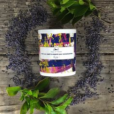 When you need to expand your consciousness Contemporary Candles, Meraki, Consciousness, Jasmine, Plant Based, Vanilla, Lavender, Artisan, Fragrance