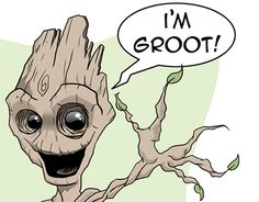 "Check out new work on my @Behance portfolio: ""Groot. Ilustración personal."" http://on.be.net/1IrfyQr"