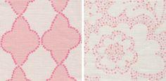 Clay McLaurin Textiles. Medallion & Elena. Ainsworth-Noah & Associates.