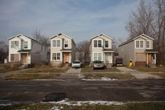 North Pointe Village is a failed housing development in the city of Highland Park, MI.