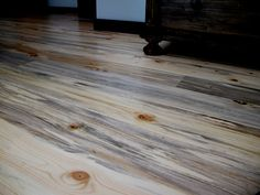 Learn about our Beetle Kill Pine lumber for walls and floors here at Sustainable Lumber Co. Beetle Kill Pine wood is high quality with great color and character. Timber Wall Panels, Timber Walls, Deck Stain Colors, Floor Colors, Pine Walls, Pine Floors, Stain On Pine, Wood Stain, Cedar Siding