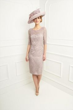 Mother of the Bride by John-charles | MBJC112.  This is a good length for Mum