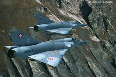 Military Jets, Military Aircraft, Fighter Aircraft, Fighter Jets, Swiss Air, Old Planes, War Machine, Military History, Airplanes