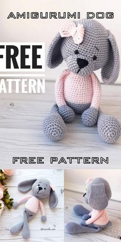Amigurumi lovers often look for models in amigurumi dog crochet pattern I share with you. You can find everything about Amigurumi on our website.