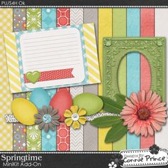 Springtime mini kit freebie from Connie Prince