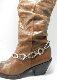 Silver Boot Bling  Jewelry Accent to your by Blingtimeaccessories, $15.00