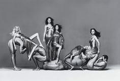 Gianni Versace Couture advert campaign - Autumn 1994