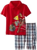 Angry Birds Little Boys' Polo and Short Set, Red, Shopping Catalogues, Angry Birds, Cute Baby Clothes, Best Brand, Baby Boy Outfits, Kids Boys, Cute Babies, Christmas Sweaters, Cool Outfits