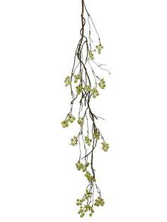 "Bloom envy  HSB883-WH  48"" Mini Blossom Hanging Spray"