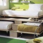 Decorate your room in a new style with murphy bed plans Murphy Bed Ikea, Murphy Bed Plans, Diy Home Office Furniture, Diy Furniture, Office Bed, Lounge Design, Decorate Your Room, Teen Bedroom, Space Saving