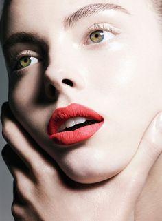 rote lippen schminken perfekt schminken schminktipps
