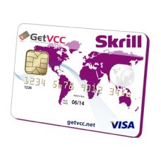 Anonymous (Use Any Name) Skrill Verification Virtual Credit Card (not reloadable) With this VCC you can verify your accounts without leaking your information. We will give you the complete 16 digits virtual credit card number , 3 Digits Security Number, and the Expiry Date. Our cards work no matter what your name is and no matter where you live.